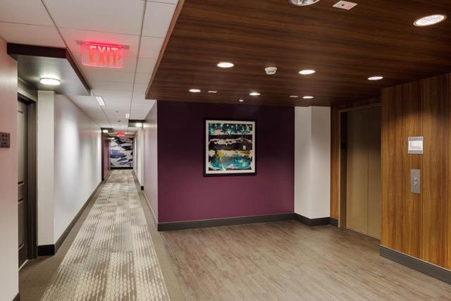 50 & 55 Station Landing medford lobby