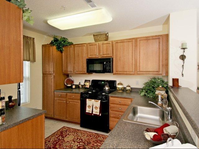 Summit Place kitchen