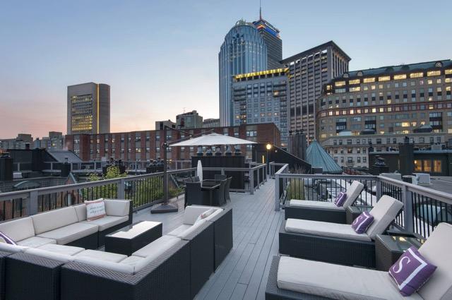 Garrison Square boston terrace