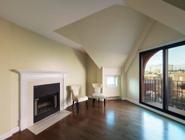Garrison Square boston fireplace