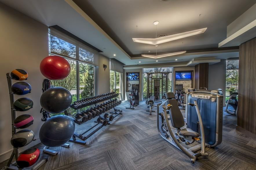 Gables University Station Westwood fitness center