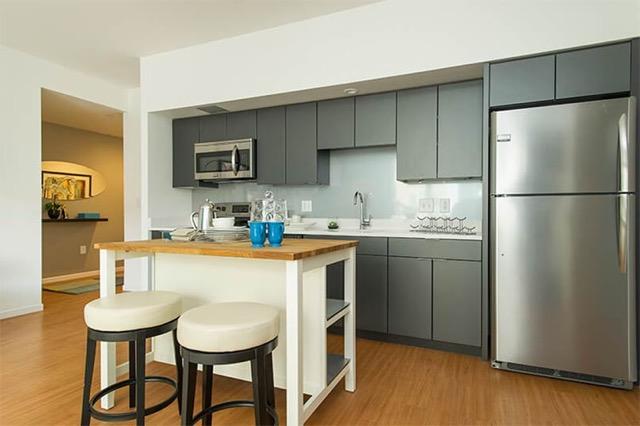 E3 Apartments Allston kitchen 1