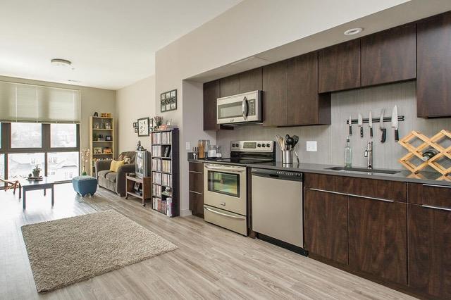 E3 Apartments Allston kitchen 2
